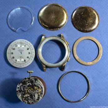les pièces du boitier
